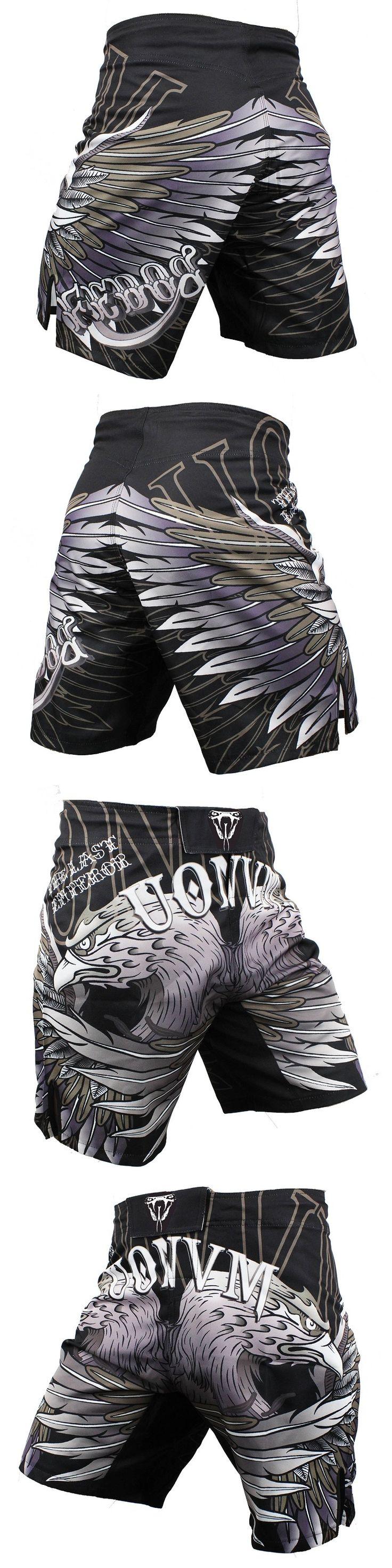 FEDOR SIGNATURE FIGHT MMA  Fitness Sanda fighting TIGER Muay Thai shorts boxer shorts Size S M L,XL