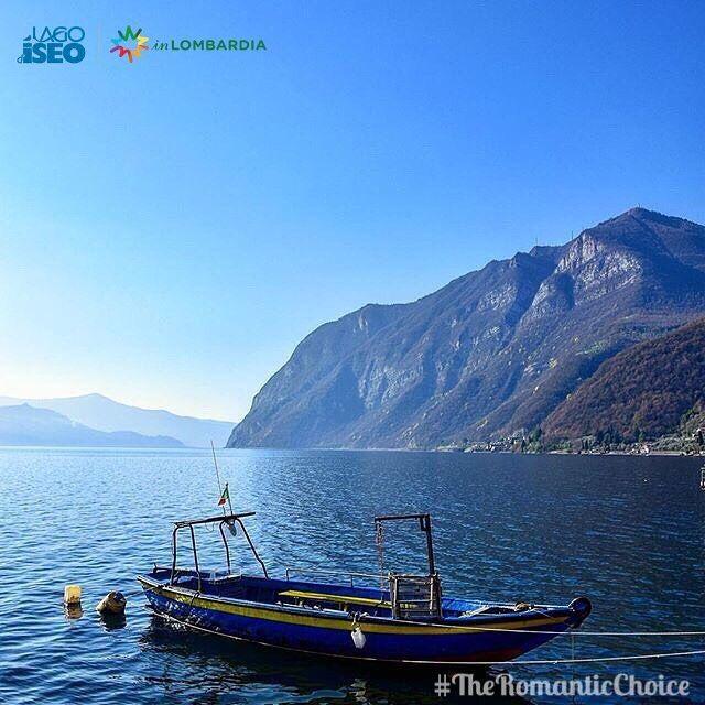 """#TheRomanticChoice Instagram Contest Location:#RivaDiSolto (Bg)  Photo Credit: @tinabonetti58  _____________________________________________  Ti ringraziamo per aver condiviso questa immagine di uno dei comuni del lago d'Iseo.  Puoi vincere una visita esclusiva in una cantina della """"Strada del Vino Franciacorta"""" oltre a due bottiglie di Franciacorta Satèn per brindare  in un territorio dal fascino unico! _____________________________________________ Thank you for sharing this image ..."""