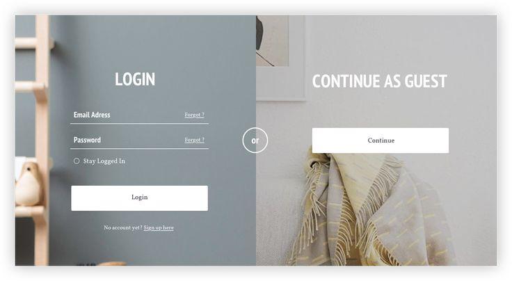 Barni, abeautifuland huge desktop UI Kit for E-Shoppurpose.