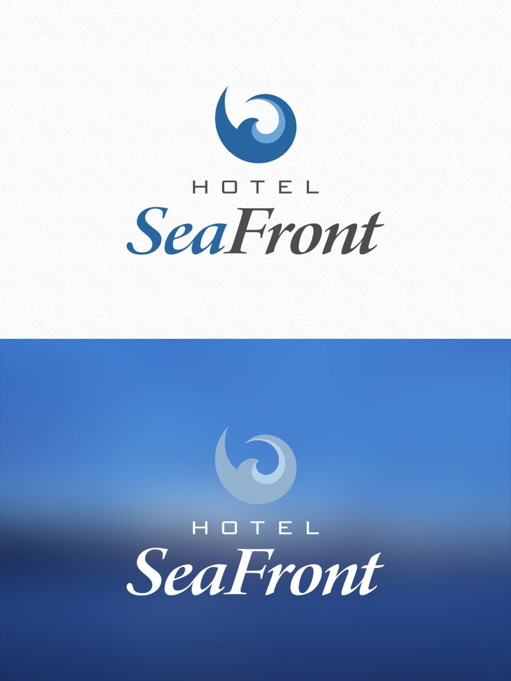 Logo design for Hotel SeaFront - Tammisaari by Pennanen Design
