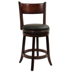 "Palmetto Swivel Stool - Chestnut (24"")"