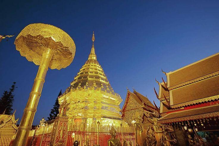 SPEKIT Eco Tour (@spekitecotour) в Instagram: «🛫 Отправляйся на Север Таиланда 🛬 🙏 Ват Пратхат Дой Сутхеп (тайск. วัดพระธาตุดอยสุเทพ, англ. Wat…»