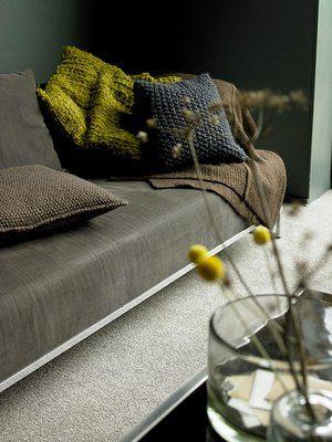 crochet details. love the colors...