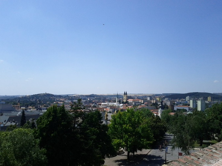 View from Nitra Castle - Nitra - Slovakia (photo taken by me)