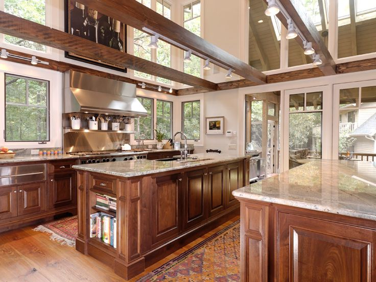 Rustic Open Kitchen Designs 499 best kitchen floor plans images on pinterest | house plans and