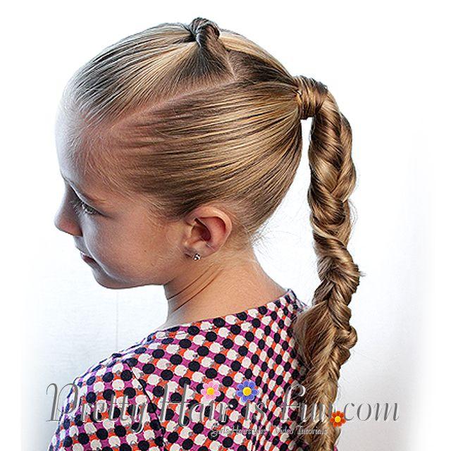 How To: Split Twist Braid   Pretty Hair is Fun Messy Braids; pulled braids, boho braids; easy braids; hair; hairstyles; braids; updos; buns; wedding; ...