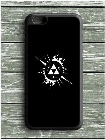Black Zelda Triforce iPhone 6S Plus Case