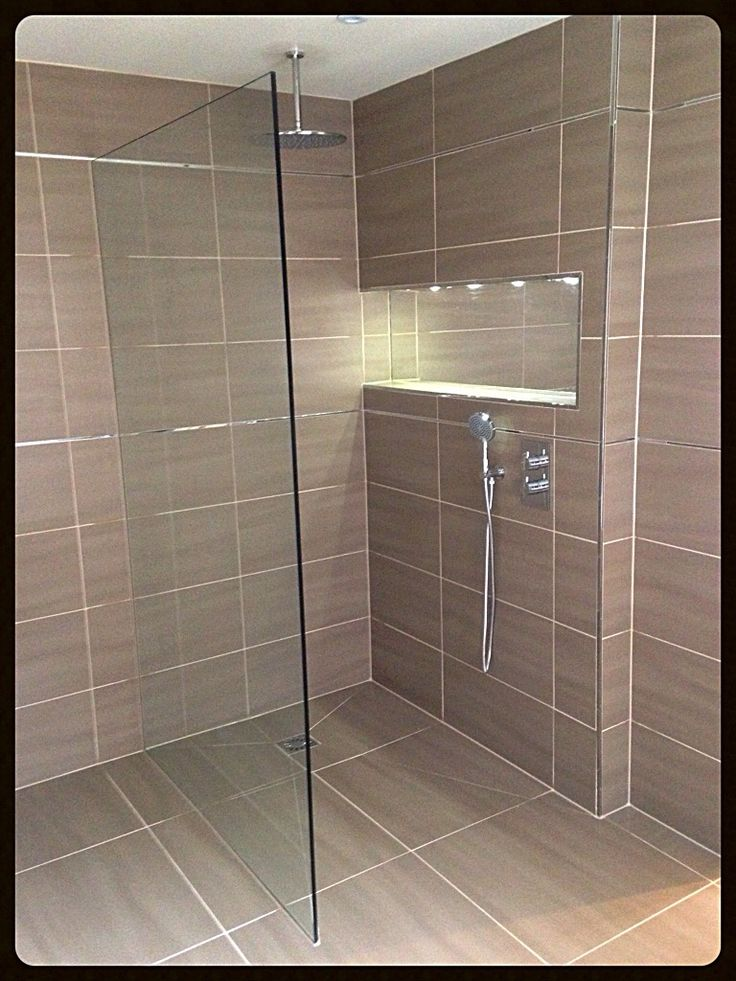 Shower screen fitted in St. Albans. Lovely free standing