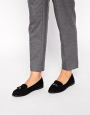 London Rebel Tassle Loafers