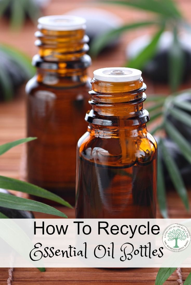 Do you have a lot of essential oil bottles laying around? Here's a way to clean and reuse your essential oil bottles! The Homesteading Hippy via @homesteadhippy