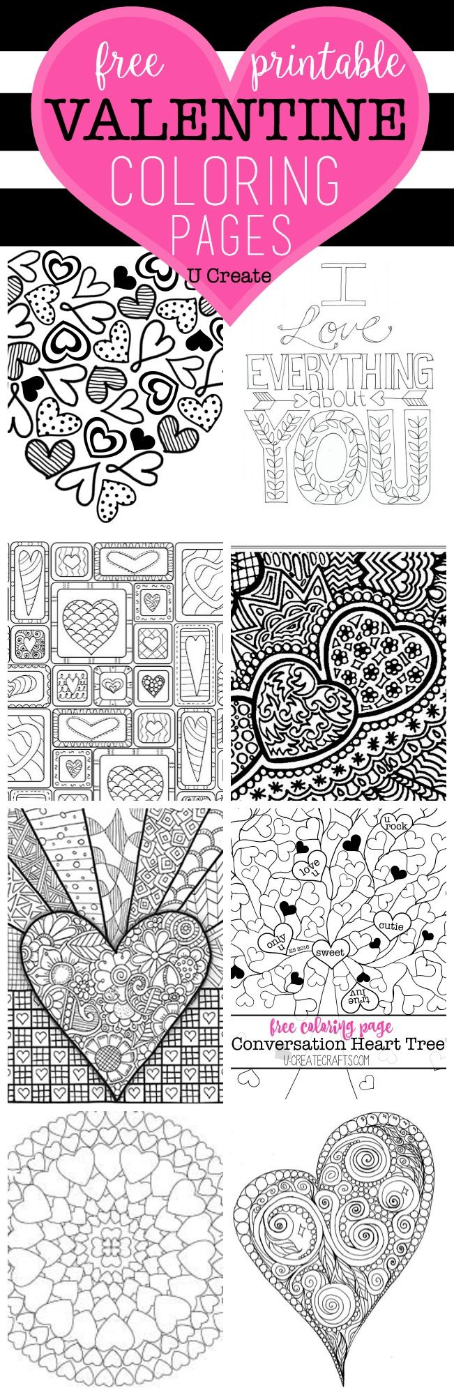 Free coloring pages creation - The Free Valentine Coloring Pages Are Here You Can T Walk Into A Store