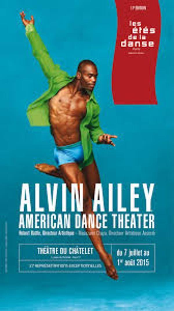 #Alvin Ailey Théâtre du Châtelet (#Paris) 7 juil. 2015 - 1 août. 2015