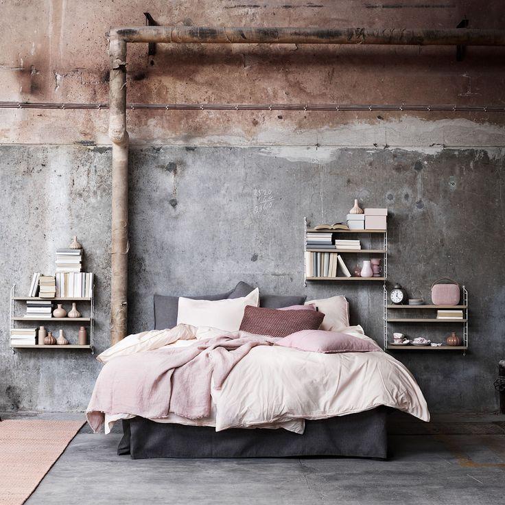 String Pocket, ek/hvit – String – Kjøp møbler online på Room21.no