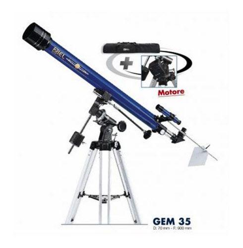 Telescopio GEM 35 Ziel completo di treppiedi, borsa da asporto e motore in ascensione retta.  www.fotomatica.it | info@fotomatica.it