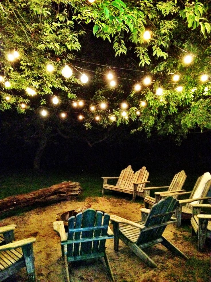 String Lights On Outdoor Tree : 25+ best Lights in trees ideas on Pinterest Backyards, Simple house and Christmas lights in jars