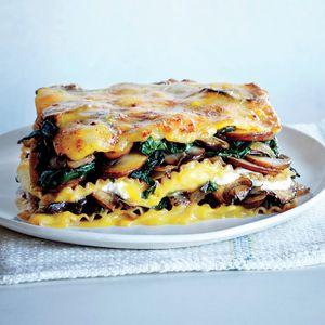 Vegetable Lasagna with Butternut Béchamel | MyRecipes.com