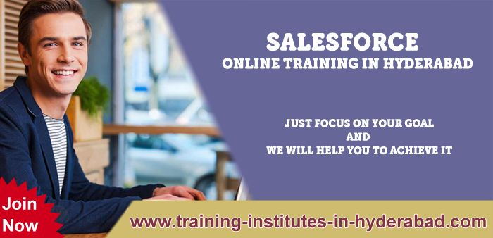 Salesforce Onlline Training institutes in Hyderabad, Ameerpet, India.  Visit: www.training-institutes-in-hyderabad.com