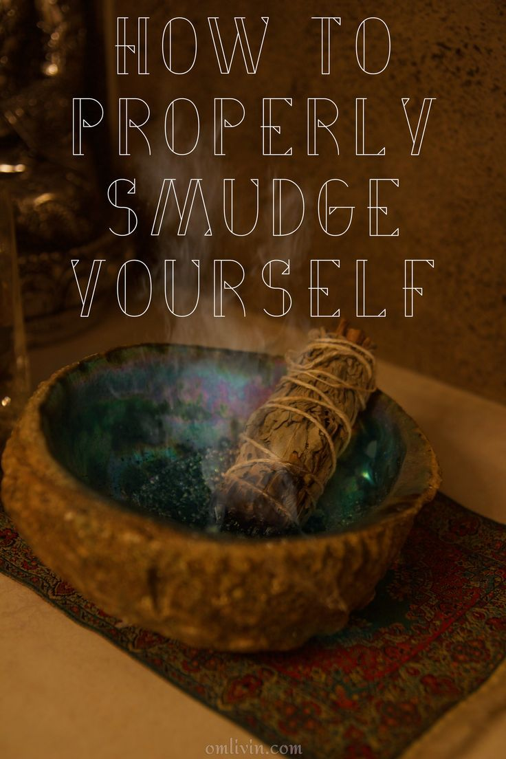 Learn how to properly smudge yourself and others with these simple tips from Om Livin' as well as a quick history of this ancient ritual.