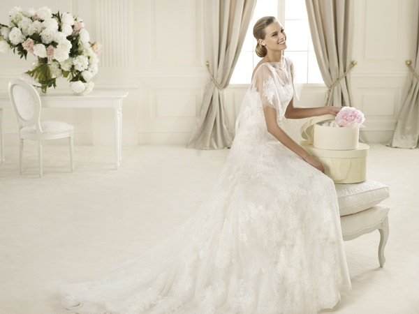 Manuel Mota for Pronovias 2013 preview Bridal Dress Gamo