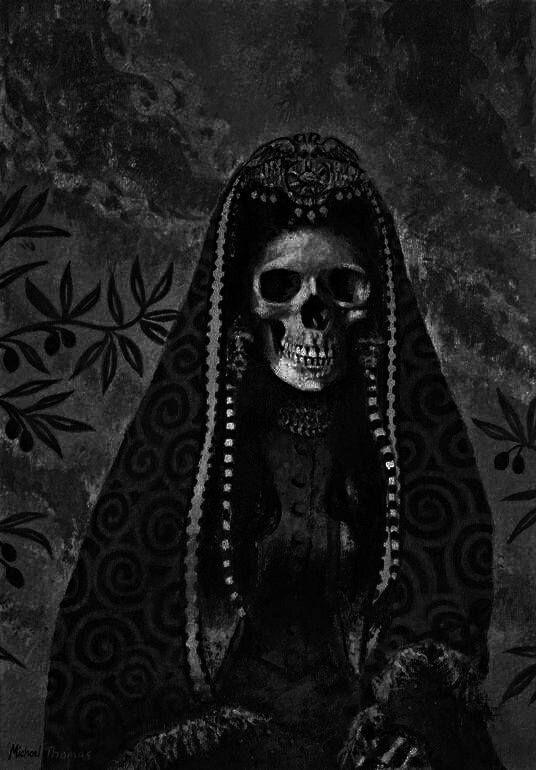 skull  u0026 gothic art