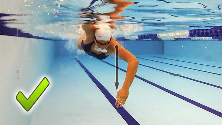Feel For The Water! Advice  Tips to Improve Your Swimming.: Swimming Down A Narrow Corridor