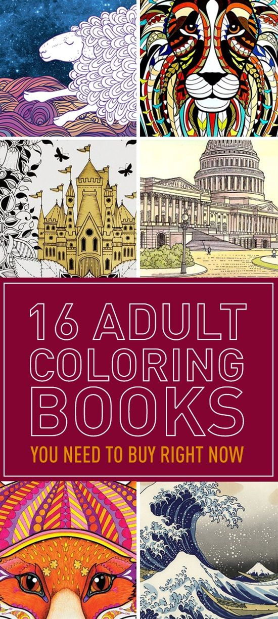 16 Adult Coloring Books You Need To Buy Right Now