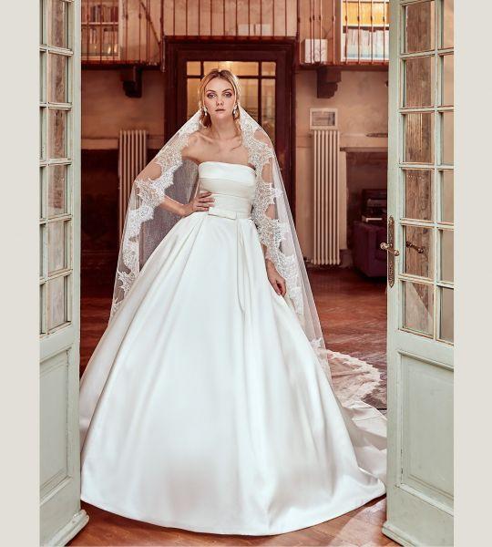 Vestidos de novia palabra de honor 2017: ¡El diseño más deseado! Image: 15