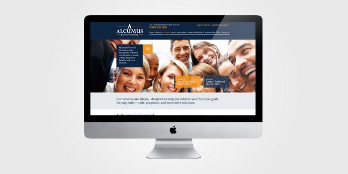 Alcumus - Australian based financial consultants WordPress Website