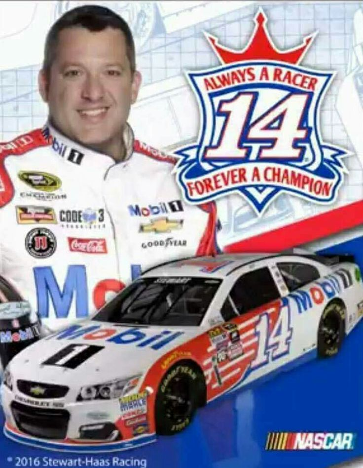 Going to miss Tony Stewart!