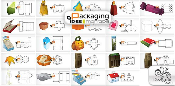 52 best Packaging Ideas images on Pinterest | Craft ... Unique Package Design Templates