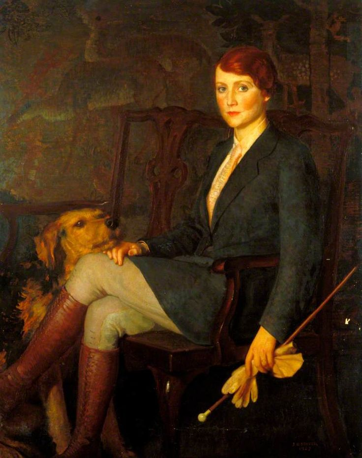 Portrait of Fay Compton (1894–1978) , 1927 by John Bulloch Souter (Scottish 1890-1972)
