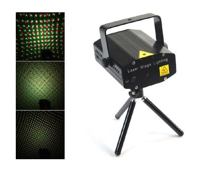 Mini Green & Red Laser Party Lighting