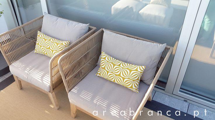 Para dias de Sol que parecem Primavera! #areabranca #exterior #outsider #decor