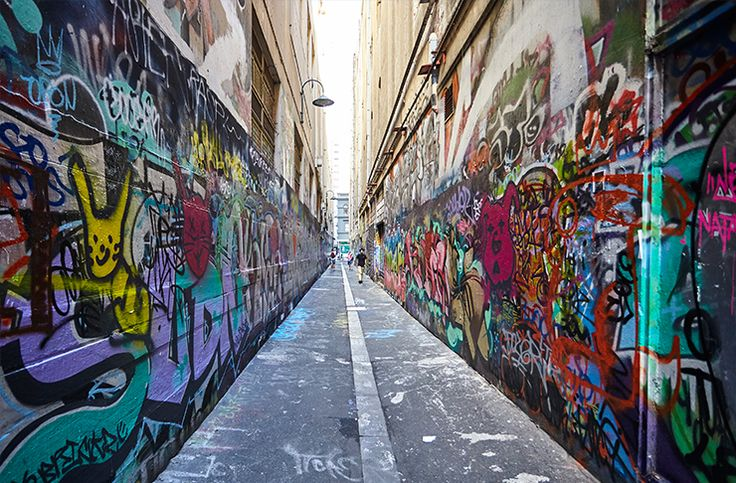 From Fitzroy, through to the CBD and out to Cremorne, Melbourne is covered in glorious street art that makes us swoon.