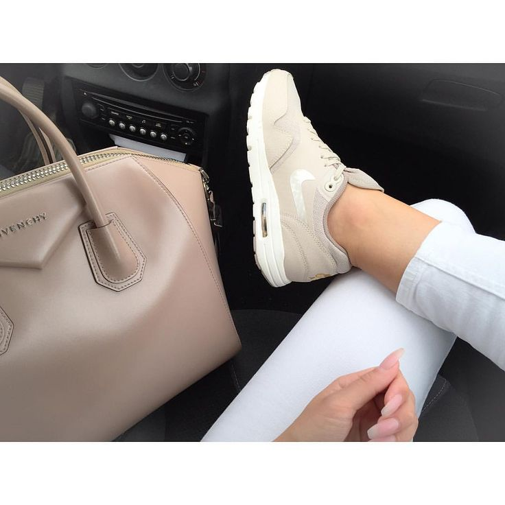 "Dresslikemila on Instagram: ""Nude  Air Max 1 ultra essentials Beige @nike…"