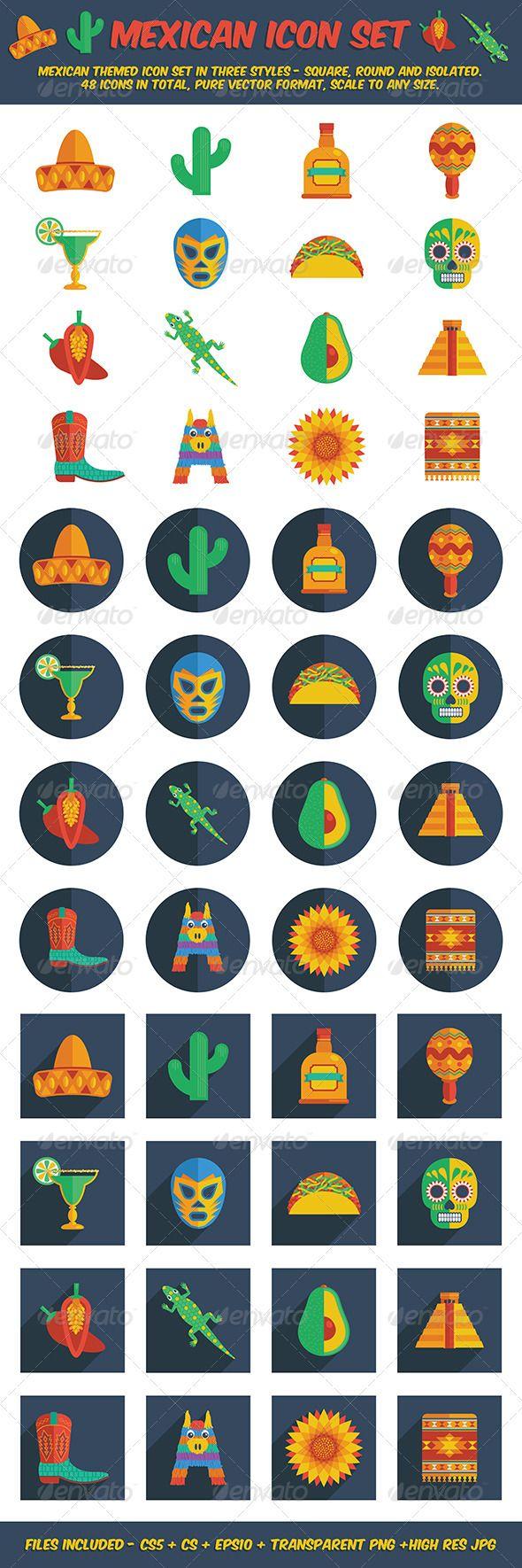 Mexican Icon Set