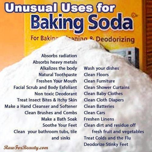 Baking Soda Cleaning Pinterest
