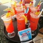 """Carnival's """"Cheers"""" Beverage Program is flat-rate daily pricing for alcoholic drinks, non-alcoholic frozen drinks, and soda."""