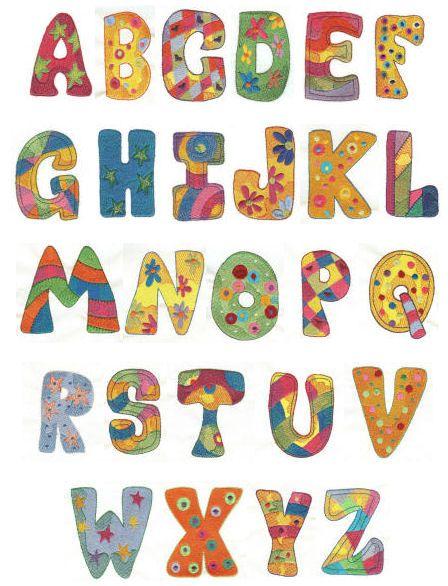 Free Applique Templates Letters