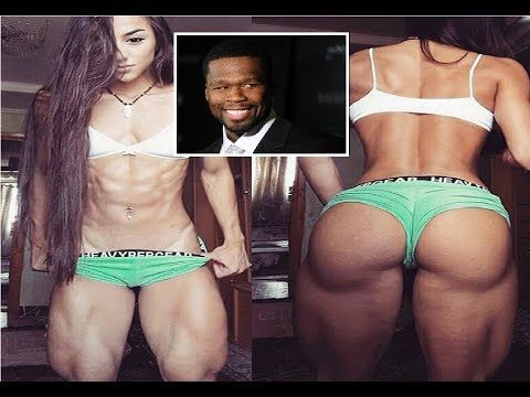 Rapper 50 Cent is the latest fan to praise female bodybuilder known as M...                                                                                                                                                                                 More
