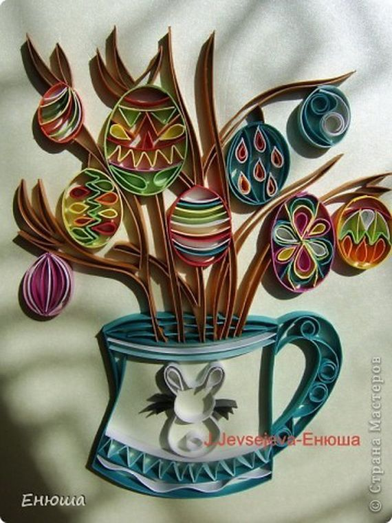 Creative Quilled Easter Designs and ideas_2