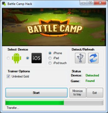 battle camp hack tool