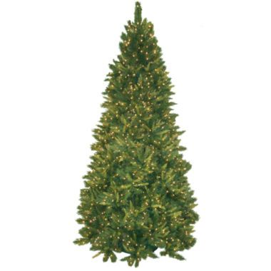 9 pre lit mixed pine christmas tree found at jcpenney