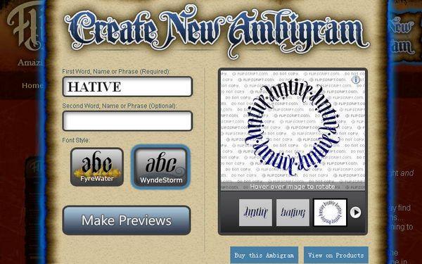 ambigram generator flipscript 1