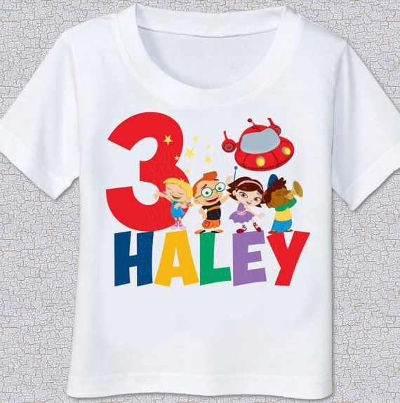 Cumpleaños de Einsteins Little camiseta Tshirt por swingNmonkeez