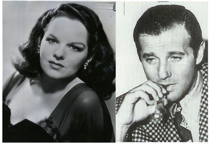 Virginia Hill and Bugsy Siegel. She looks like such a nice girl.