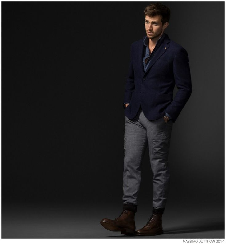 Andrew Cooper Models Limited Edition Styles from Massimo Dutti Fall 2014 5th Avenue Collection image Massimo Dutti Fall Winter 2014 NYC 5th ...
