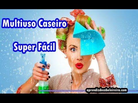 MULTIUSO CASEIRO COM VINAGRE SUPER FÁCIL -Por Luciene de Paula