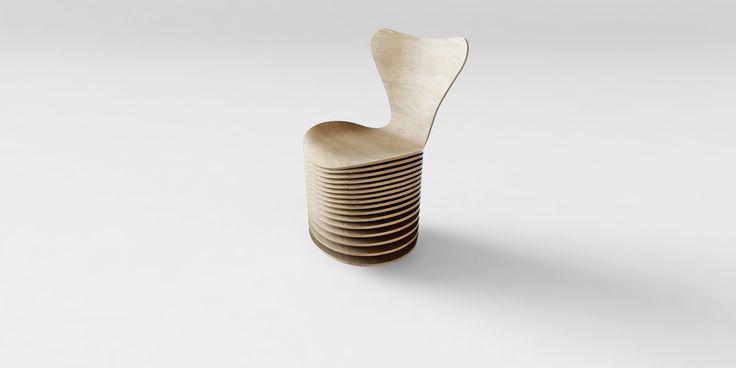 7 Cool Architects ǁ Designer: Bjarke Ingels Group (BIG) ǁ Fritz Hansen Series 7™ chair (3107) by Arne Jacobsen