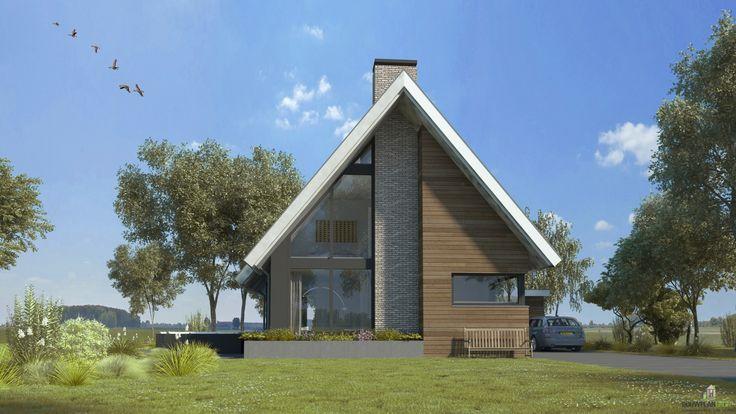 25 beste idee n over moderne gevels op pinterest modern huis exterieur gevels en moderne - Entree eigentijds huis ...